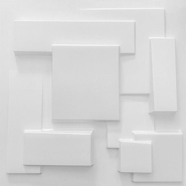 Placa 3D Revestimento Parede Alto Relevo Painel Decorativo - Foto 5