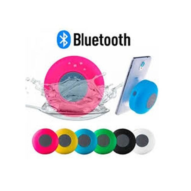 Mini Caixinha Som Bluetooth Portátil Prova Água Ventosa - Foto 2