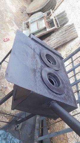 Fogão caipira de ferro - Foto 3