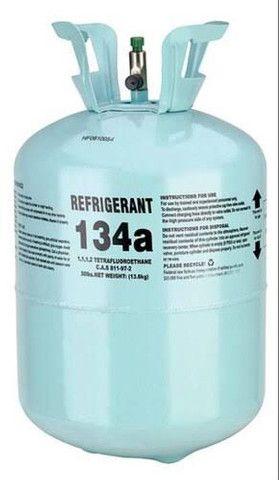 Gás refrigerante r134a refrigeração ar condicionado