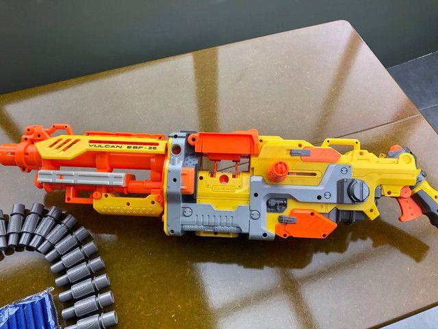 Metralhadora / arma NERF - Foto 5