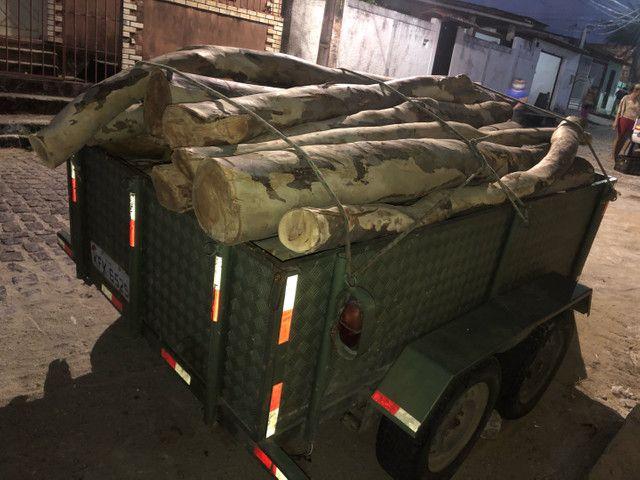 24 troncos de madeira de eucalipto  - Foto 3