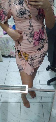 Vestido de tecido - Foto 4