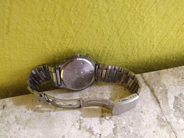 Relógio c/ pulseira de aço