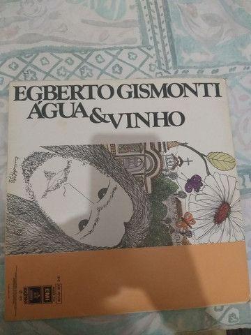 Vinil Egberto Gismonti- Água e Vinho.
