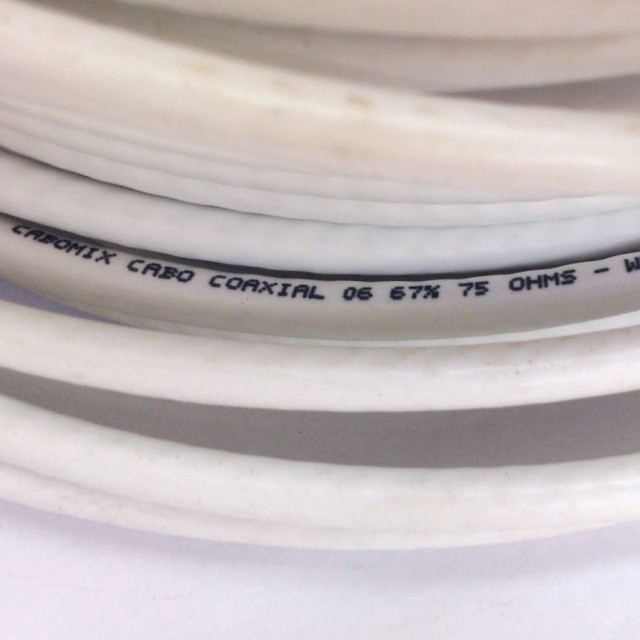 Cabo Coaxial Cabomix Rg6 67 % Rolo Com 32 Metros 75 ohms - Foto 2