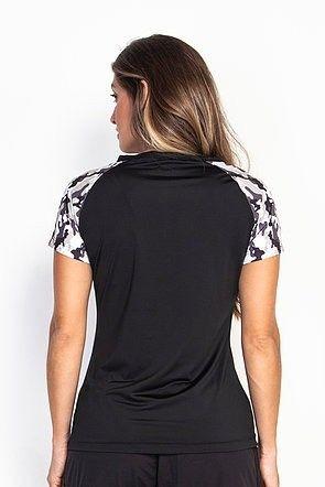 T-Shirt Camuflada Preto Verde - 4221026 - Foto 2
