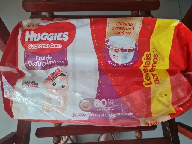 Fralda huggies supreme care  - Foto 2