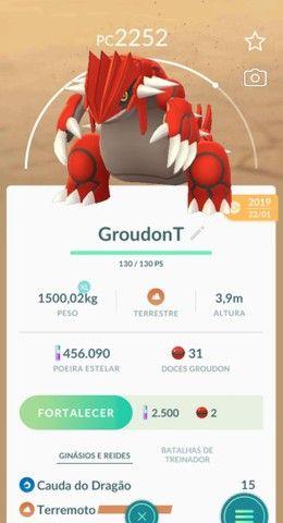 Lendários Pokemon go, 10 reais cada - Foto 2
