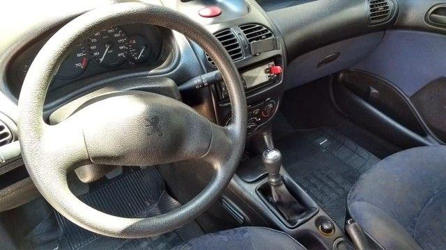 Peugeot 206 ano 2000 1.6 8v - Foto 3
