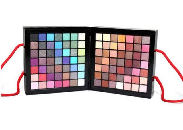 Kit Maquiagem Estojo Mpwell - 177 cores - Foto 2