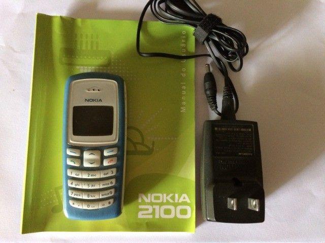 Celular Nokia 2100 Azul