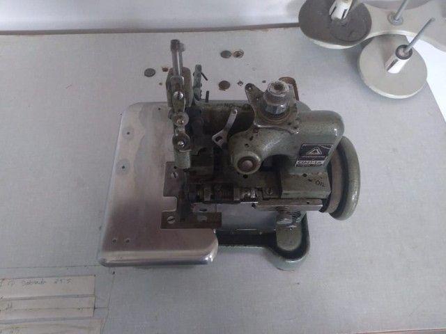 Máquina de costura Overlock semi industrial - Foto 2