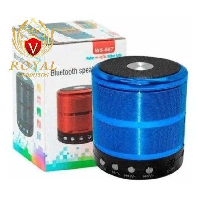 Caixinha Som Ws-887 Bluetooth Portátil Usb Mp3 P2 Sd Rádio Fm - Foto 3
