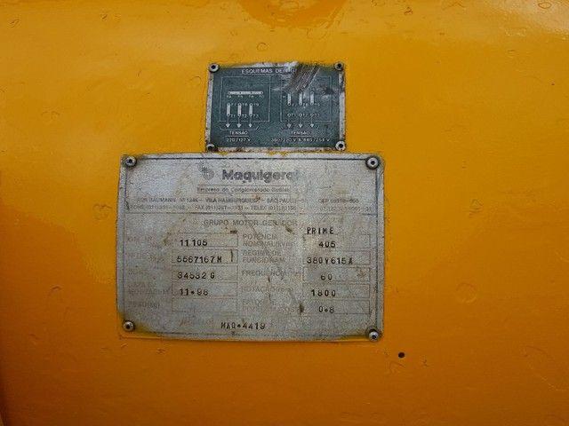 Gerador de energia 405 kVA
