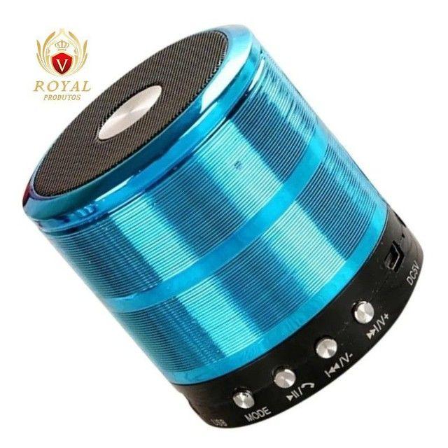 Caixinha Som Ws-887 Bluetooth Portátil Usb Mp3 P2 Sd Rádio Fm - Foto 6
