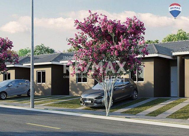 Lançamento - Casa com 2 dormitórios à venda, 43 m² por R$ 176.696 - Borboleta I - Bady Bas