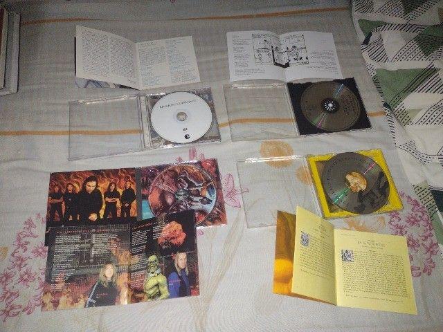 CDs e DVDs de Rock - Nacional e Internacional - Leia a descrição - Foto 2
