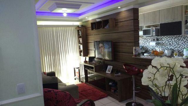 2 qts com suite no Norte Privilege, Teto, móveis e revestimentos. Lado do Norte Shopping