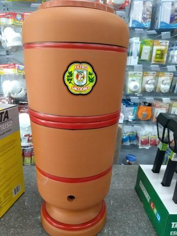 Filtro de barro de 6 litros e de 8 litros