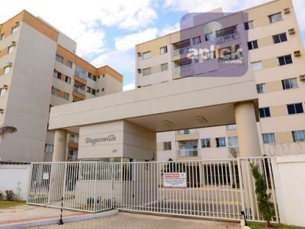 Apartamento para venda e locação - Buganville, Morada de Laranjeiras, Serra