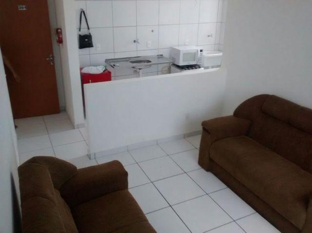 Apartamento mobiliado no Condominio Jardins Do Sul