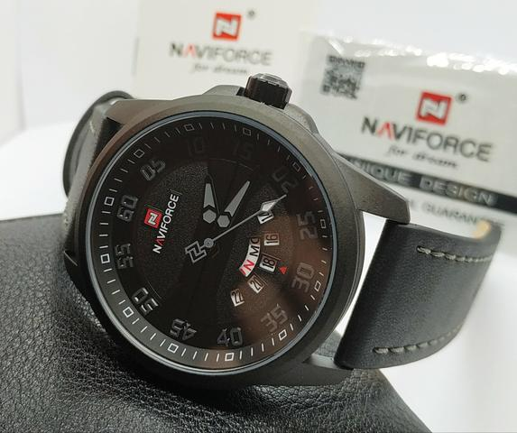 36a48bc36ed Lançamento Relógio Masculino Naviforce Original Pronta Entrega Promoção