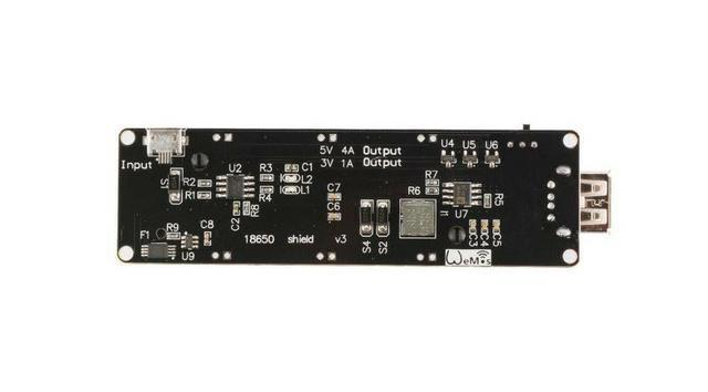 COD-AM153 Módulo Micro Usb wemos ESP32 18650 Bateria Shield V3 ESP-32 Arduino Automaç - Foto 3