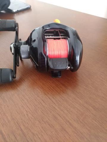 Carretilha Shimano Speedmaster 201 com rolamentos Abec7 - Esportes e