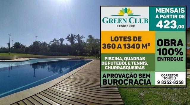 Green Club Residence - Sem consulta ao SPC e Serasa