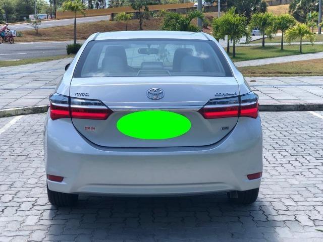 Corolla Impecavel 2018 , C\ Led , Rodas de Liga Leve , Couro , Revisado , Impecavel # # - Foto 7