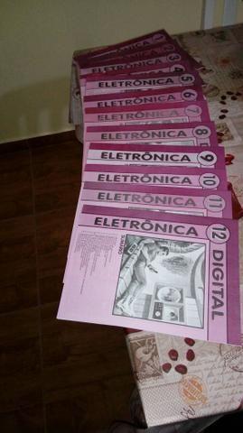 12 livros Novos Eletrônica digital+ Multimetro digital Novo - Foto 3