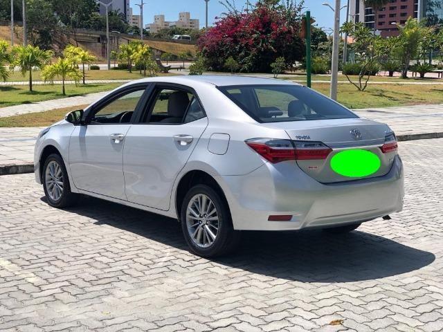 Corolla Impecavel 2018 , C\ Led , Rodas de Liga Leve , Couro , Revisado , Impecavel # # - Foto 17