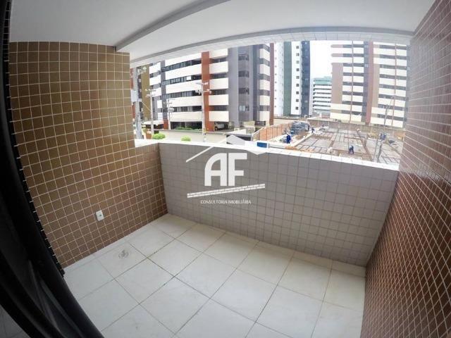 Apartamento novo na Jatiúca - 3 quartos sendo 1 suíte - Prédio com piscina - Foto 2