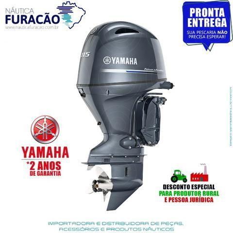 Motor de Popa Yamaha 4T F 115hp Betl (Partida, Comando e Trim)
