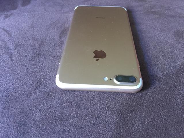 Iphone 7 plus gold 256 gigas - Foto 2
