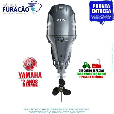 Motor de Popa Yamaha 4T F 115hp Betl (Partida, Comando e Trim) - Foto 3