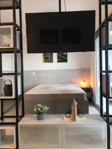 Apartamento com 1 dormitório para alugar, 40 m² por R$ 1.800,00/mês - Jardim Tarraf II - S - Foto 13
