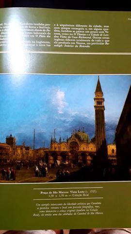 Livro de Arte de pintores famosos