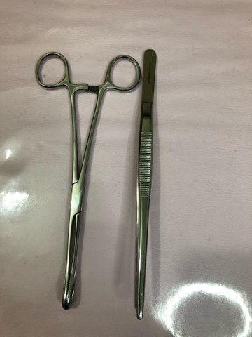 Pinças para piercing - Foto 4