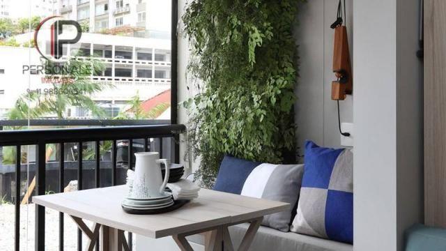 Studio com 1 dormitório à venda, 21 m² por R$ 340.990,00 - Vila Madalena - São Paulo/SP - Foto 4
