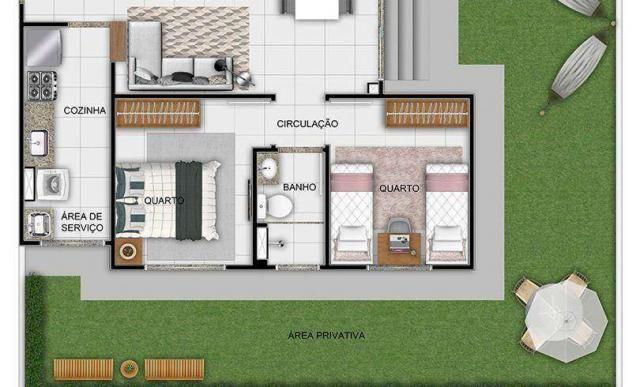 Monte dos Pinheiros - Apartamento 2 quartos em São Carlos, SP - 45m² - ID4066 - Foto 8