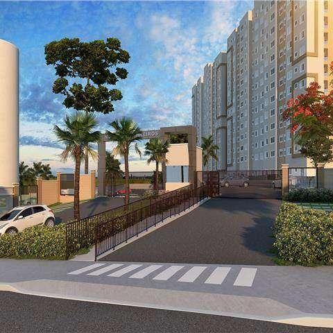 Monte dos Pinheiros - Apartamento 2 quartos em São Carlos, SP - 45m² - ID4066 - Foto 2