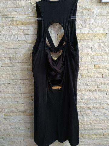 Vestido curto tamanho M - Foto 3