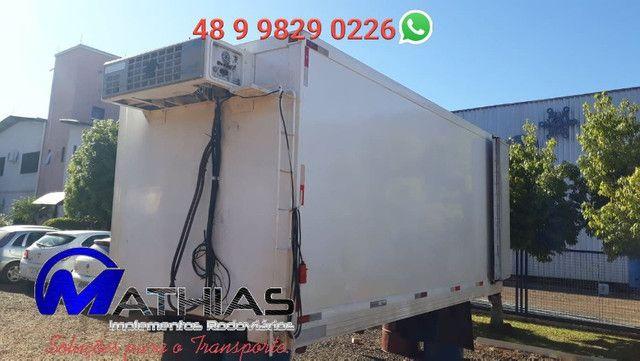 Camara refrigerada 5.00m para caminhão 3/4 Mathias implementos - Foto 3
