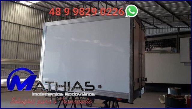 Baúpara HR OU kia Bongo 2.80m termico Mathias Implementos - Foto 2