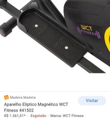 Vendo aparelho elíptico NOVO - Foto 3