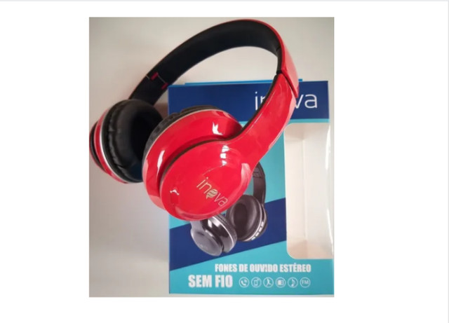 Fone De Ouvido Headphone Bluetooth Estéreo Inova - Foto 3