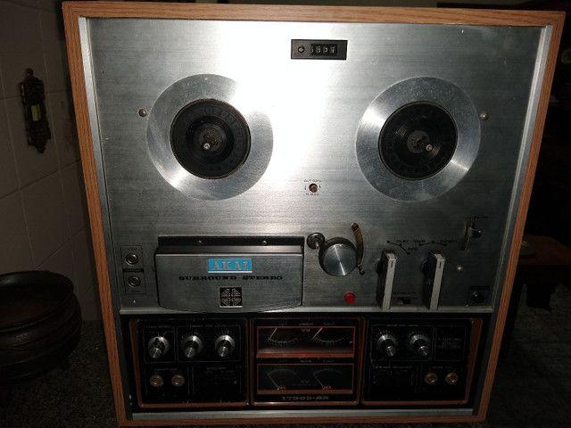 Tape Deck Rolo Akay 1730 D SS - Foto 2