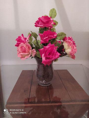 Arranjo de flores artificiais - Foto 2
